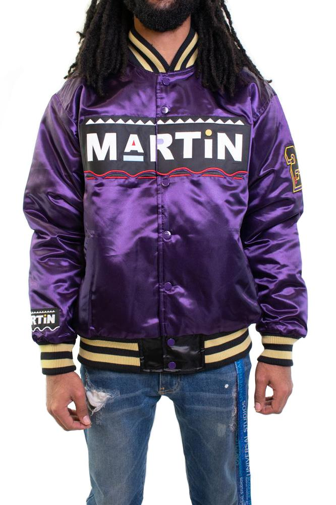 Purple Martin Marty Marr Satin Jacket - shopallstarsports.com