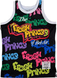 FRESH PRINCE BLACK GRAFFITI BASKETBALL JERSEY