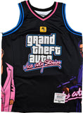 GTA VICE CITY BLACK BASKETBALL JERSEY