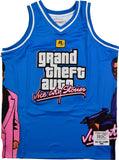 GTA VICE CITY BLUE BASKETBALL JERSEY