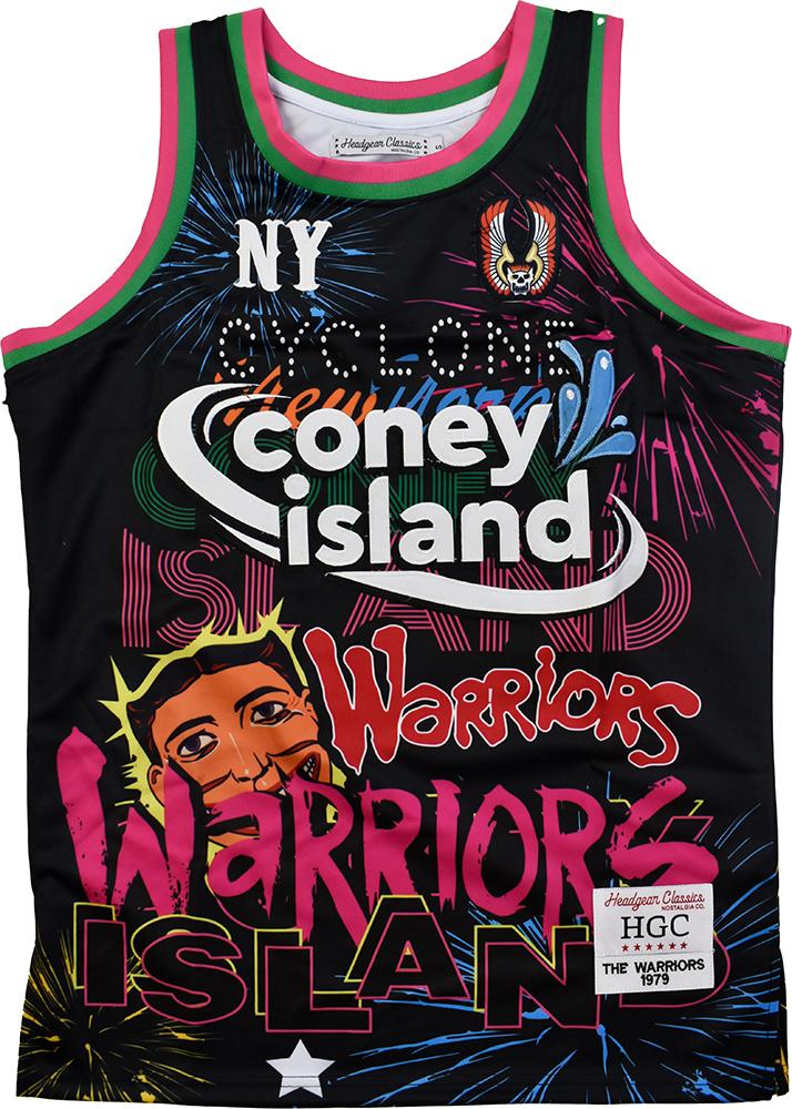 THE WARRIORS BASKETBALL JERSEY