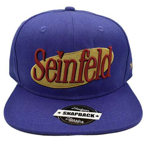 SEINFIELD BLUE SNAPBACK