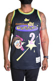 FAIRY GODPARENT BLACK BASKETBALL JERSEY