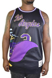 DARKWING DUCK LA BLACK BASKETBALL JERSEY