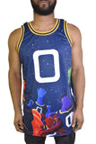 MONSTARS SPACE JAM MOVIE BASKETBALL JERSEY