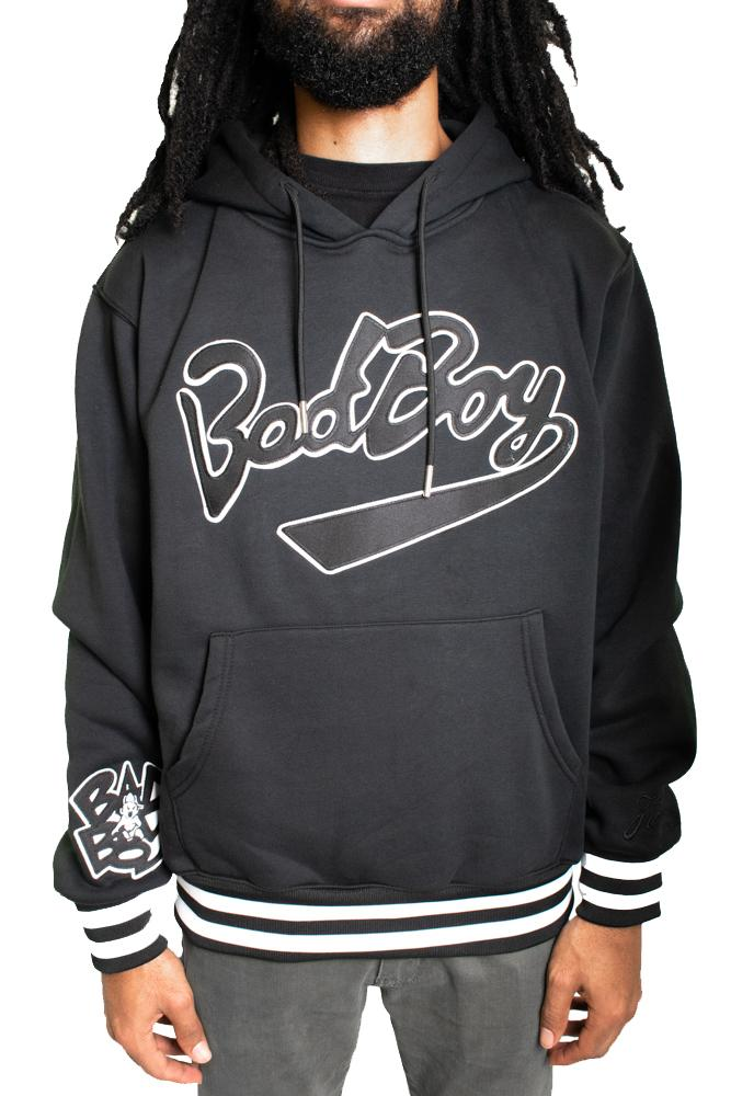 Bad Boy Black Hoodie - shopallstarsports.com