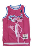 PINK PANTHER MIAMI PINK YOUTH BASKETBALL JERSEY