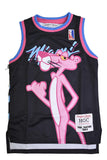 PINK PANTHER MIAMI YOUTH BLACK BASKETBALL JERSEY