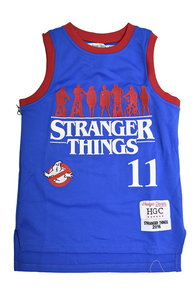 STRANGER THINGS YOUTH BASKETBALL JERSEY