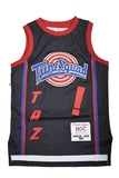 YOUTH TAZ TUNESQUAD BLACK BASKETBALL JERSEY