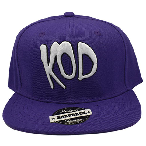 KOD J COLE PURPLE SNAPBACK