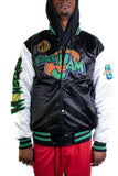 Space Jam Black Satin Jacket