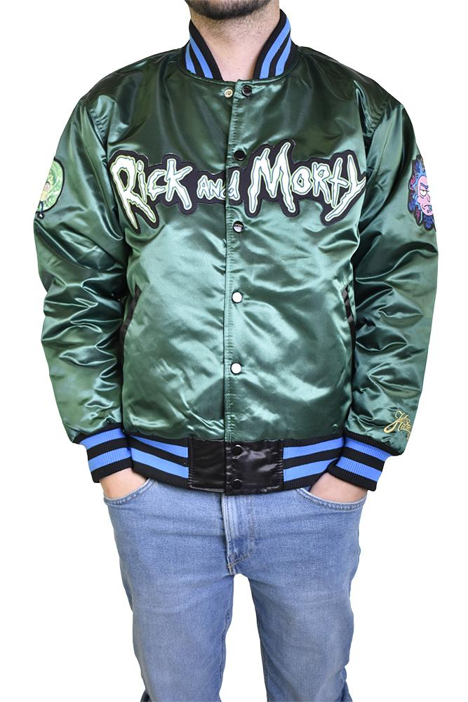 RICK AND MORTY SATIN JACKET