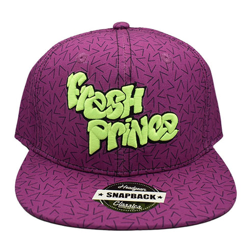 PURPLE FRESH PRINCE SNAPBACK