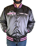 NEXT FRIDAY PINKY'S RECORD SHOP BLACK SATIN JACKET