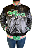 FRESH PRINCE OF BELL AIR WILL SMITH BLACK SATIN JACKET