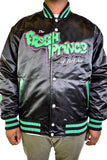 FRESH PRINCE OF BEL AIR AND JAZZY JEFF BLACK SATIN JACKET