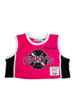 NEXT FRIDAY PINKYS CROPTOP BASKETBALL JERSEY