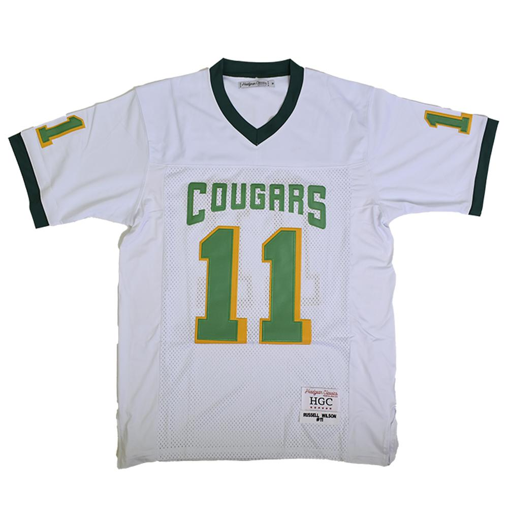 RUSSELL WILSON WHITE HIGH SCHOOL JERSEY