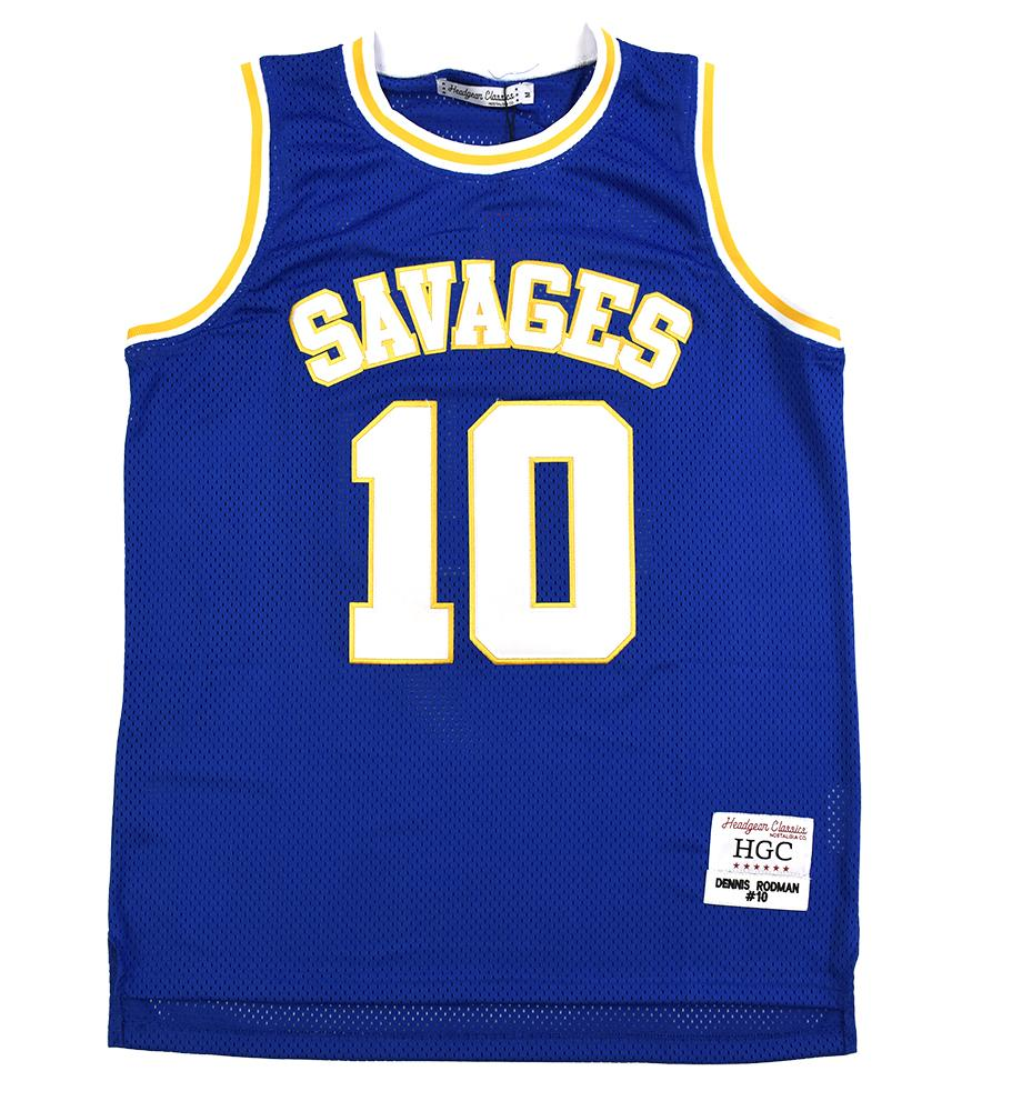DENNIS RODMAN SOUTH OAK CLIFF HIGH SCHOOL BASKETBALL JERSEY