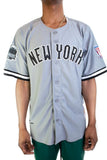 Gray New York Black Yankees Negro League Jersey