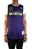 Martin Payne Retro Purple Basketball Jersey