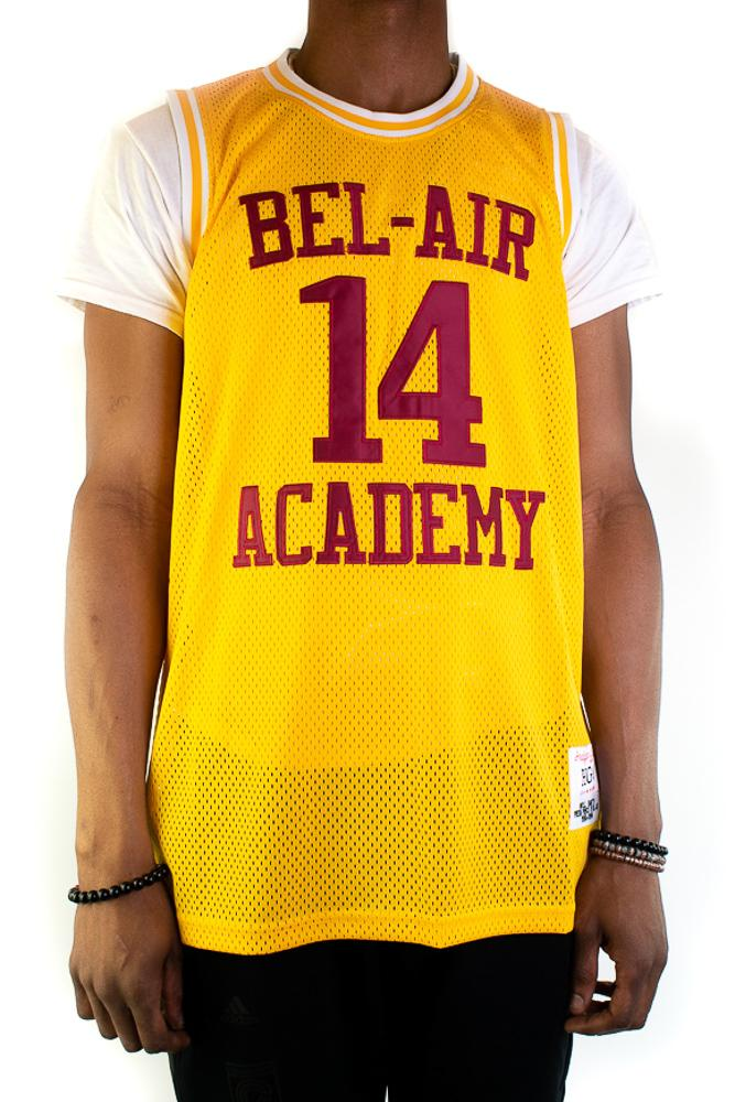 Will Smith Bel-Air Academy Gold Basketball Jersey - shopallstarsports.com