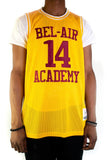 Will Smith Bel-Air Academy Gold Basketball Jersey