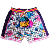 SAVED BY THE BELL BASKETBALL SHORTS