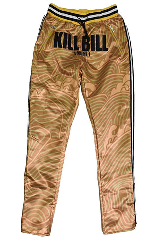 YELLOW WAVE KILL BILL STAIN PANTS