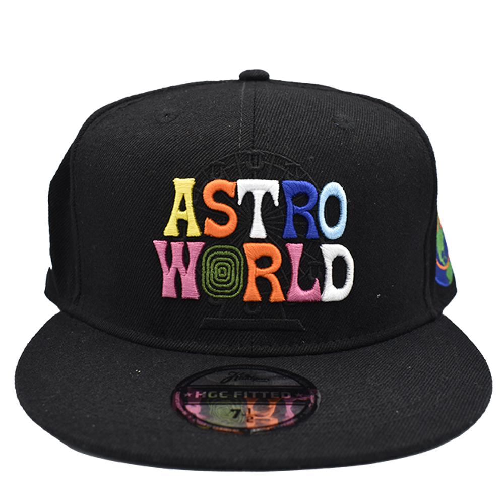 ASTRO WORLD FITTED HAT