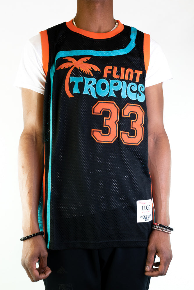 Black Flint Tropics Jackie Moon Basketball Jersey