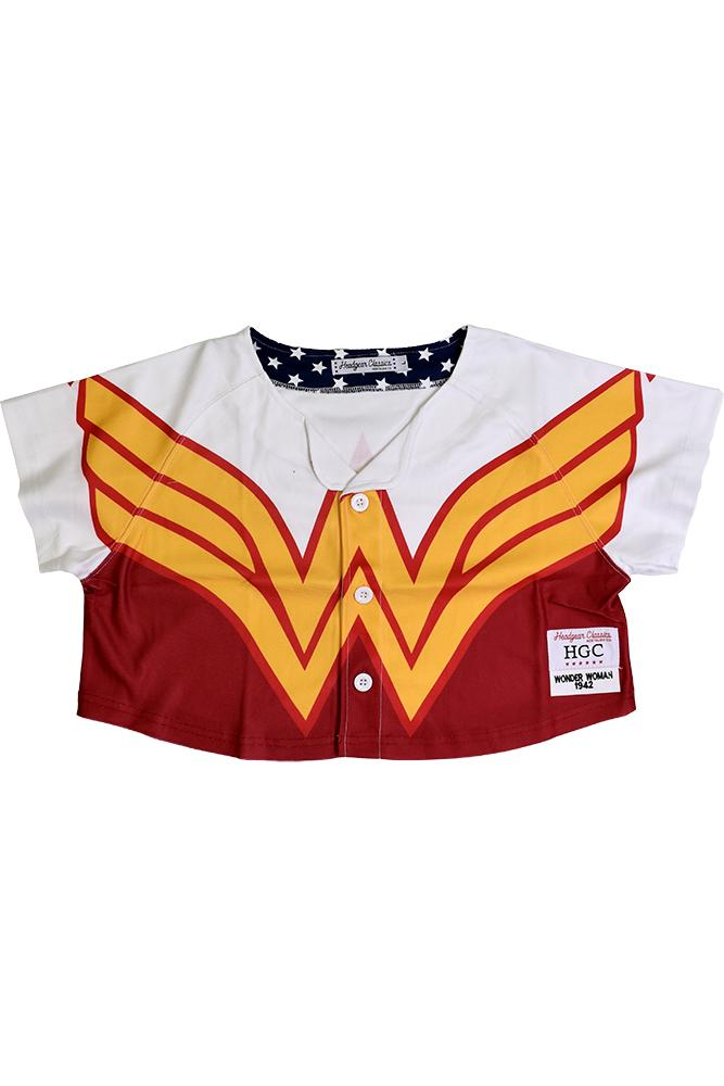 WONDERWOMAN CROP TOP