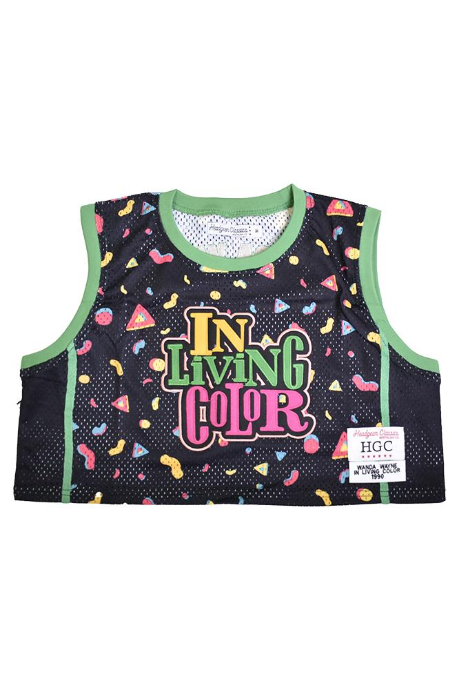 IN LIVING COLOR CROP TOP