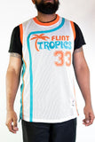 Jackie Moon Flint Tropics Youth Basketball Jersey