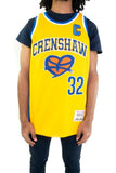 Yellow Love and Basketball Wright Basketball Jersey