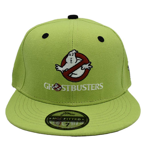 GREEN GHOSTBUSTERS FITTED HAT