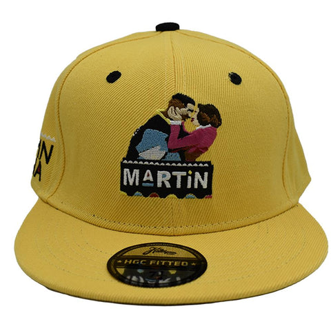 YELLOW DAMN GINA FITTED HAT