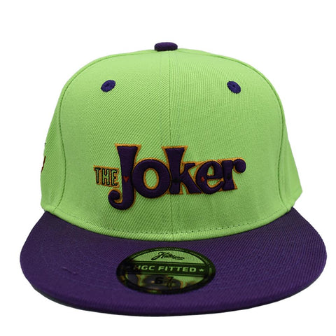 THE JOKER FITTED HAT