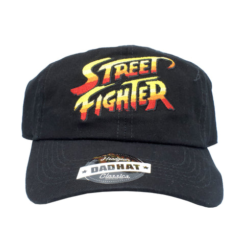 STREET FIGHTER DAD HAT - BLK