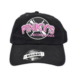 PINKY'S RECORDS DAD HAT - BLK