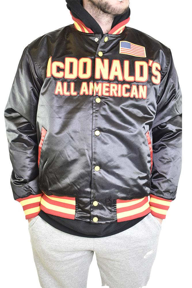 ZION WILLAMSON MCDONALDS ALL AMERICAN BASKETBALL SATIN JACKET