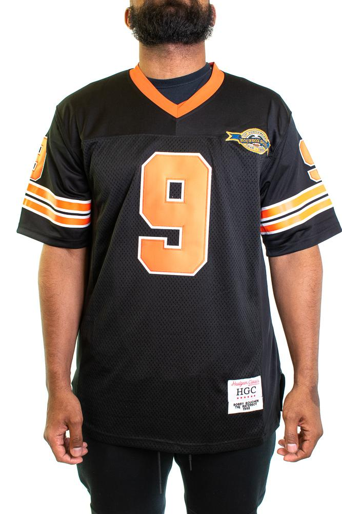 Bobby Boucher Waterboy Black Football Jersey - shopallstarsports.com
