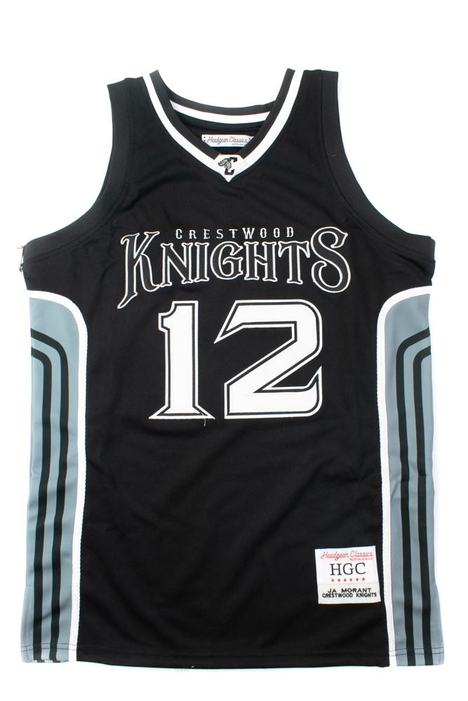 Ja Morant Black Alternate High School Basketball Jersey - shopallstarsports.com