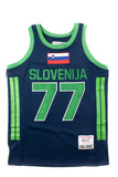 Luka Doncic Slovenia Alternate Basketball Jersey