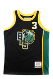 Allen Iverson Black Alternate High School Basketball Jersey