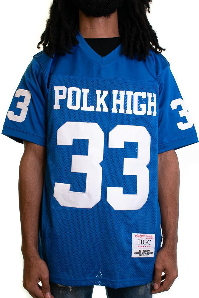 Al Bundy Polk High Football Jersey - shopallstarsports.com