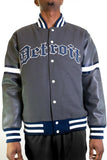 DETROIT STARS GRAY VARSITY JACKET