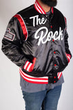 JOEL EMBID HIGH SCHOOL BASKETBALL SATIN JACKET