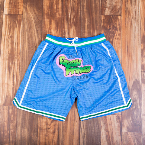 FRESH PRINCE BLUE BASKETBALL SHORTS